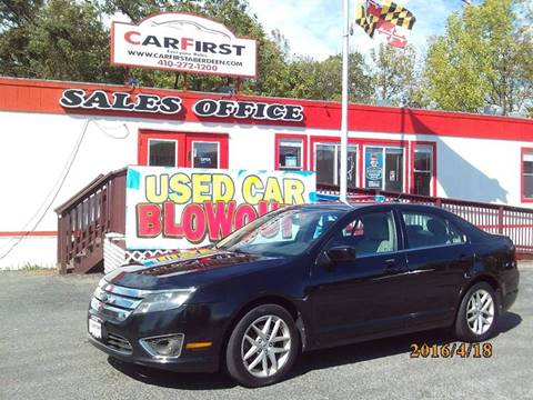 2012 Ford Fusion for sale at CARFIRST ABERDEEN in Aberdeen MD