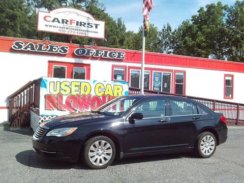 2012 Chrysler 200 for sale at CARFIRST ABERDEEN in Aberdeen MD