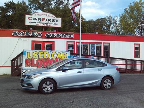 2017 Chevrolet Cruze for sale in Aberdeen, MD
