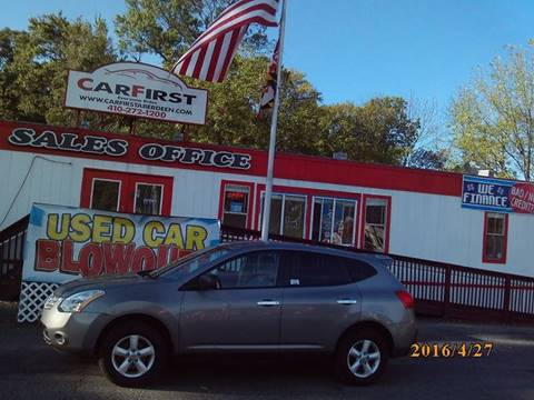 2010 Nissan Rogue for sale at CARFIRST ABERDEEN in Aberdeen MD