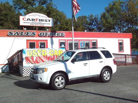 2010 Ford Escape for sale in Aberdeen, MD