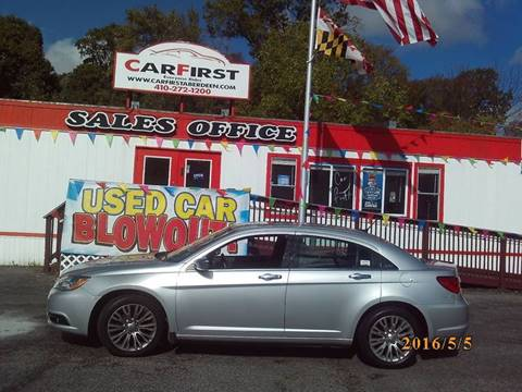 2011 Chrysler 200 for sale at CARFIRST ABERDEEN in Aberdeen MD
