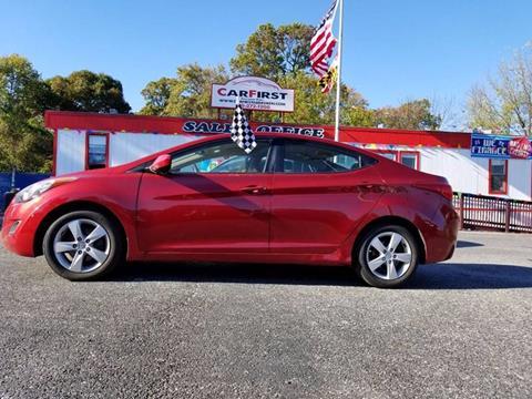 2011 Hyundai Elantra for sale at CARFIRST ABERDEEN in Aberdeen MD