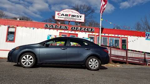 2015 Toyota Corolla for sale at CARFIRST ABERDEEN in Aberdeen MD