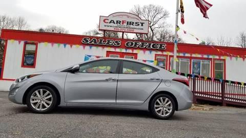 2015 Hyundai Elantra for sale at CARFIRST ABERDEEN in Aberdeen MD