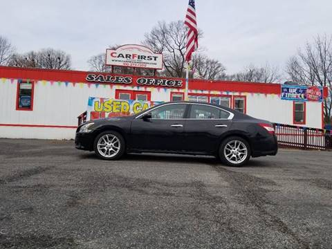 2011 Nissan Maxima for sale at CARFIRST ABERDEEN in Aberdeen MD
