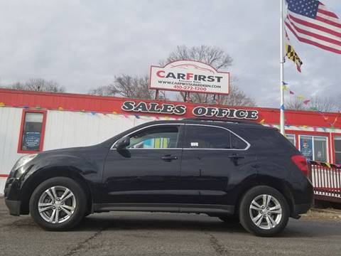2014 Chevrolet Equinox for sale at CARFIRST ABERDEEN in Aberdeen MD