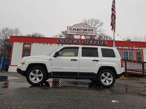 2011 Jeep Patriot for sale at CARFIRST ABERDEEN in Aberdeen MD