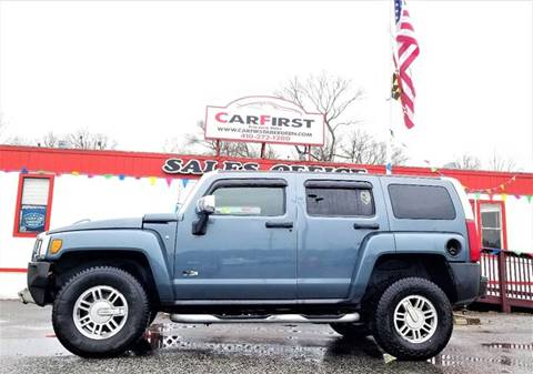 2007 HUMMER H3 for sale at CARFIRST ABERDEEN in Aberdeen MD