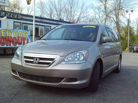2007 Honda Odyssey for sale at CARFIRST ABERDEEN in Aberdeen MD