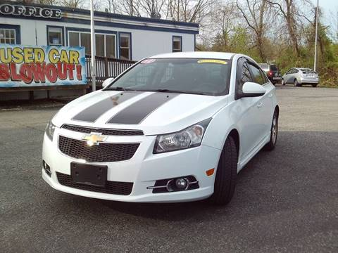2012 Chevrolet Cruze for sale at CARFIRST ABERDEEN in Aberdeen MD
