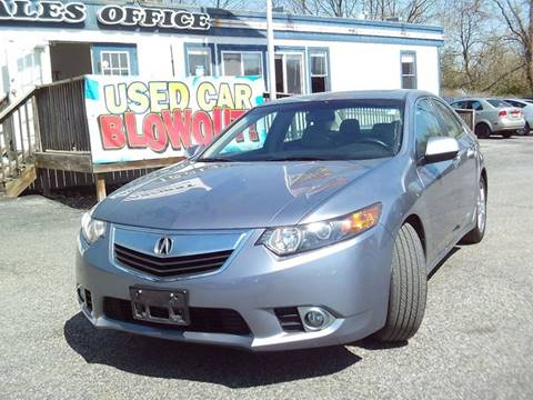 2011 Acura TSX for sale at CARFIRST ABERDEEN in Aberdeen MD