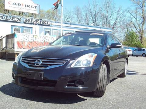 2012 Nissan Altima for sale at CARFIRST ABERDEEN in Aberdeen MD