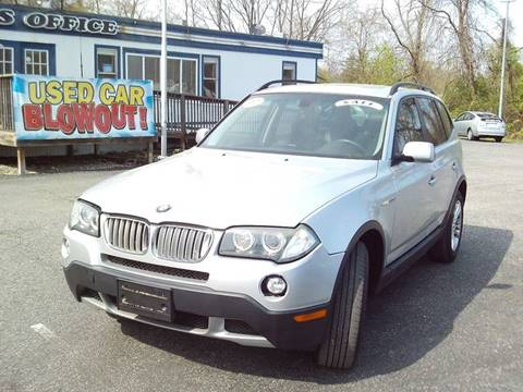 2007 BMW X3 for sale at CARFIRST ABERDEEN in Aberdeen MD