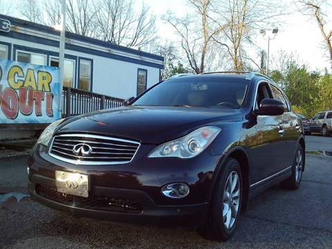 2008 Infiniti EX35 for sale at CARFIRST ABERDEEN in Aberdeen MD