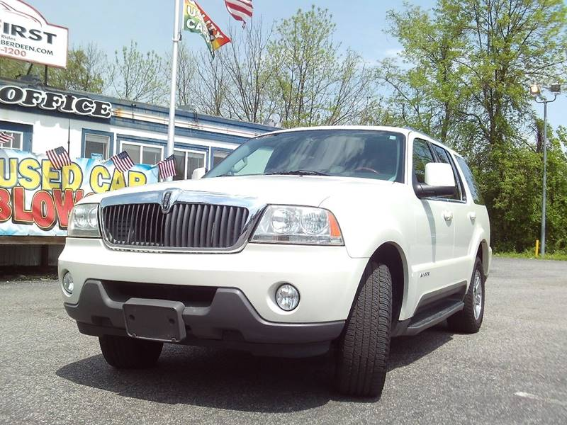 2004 lincoln aviator luxury in aberdeen md carfirst aberdeen. Black Bedroom Furniture Sets. Home Design Ideas