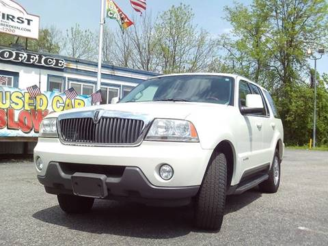 2004 Lincoln Aviator for sale at CARFIRST ABERDEEN in Aberdeen MD