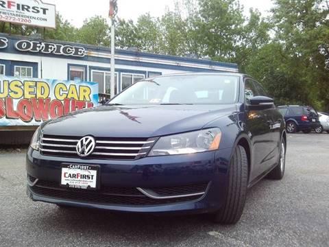 2014 Volkswagen Passat for sale at CARFIRST ABERDEEN in Aberdeen MD