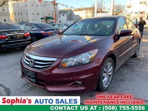 2011 Honda Accord for sale in Worcester, MA