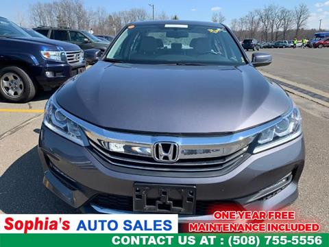 2016 Honda Accord for sale in Worcester, MA