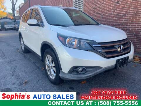 2012 Honda CR-V for sale in Worcester, MA