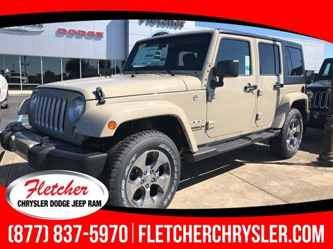 2017 Jeep Wrangler Unlimited for sale in Franklin, IN