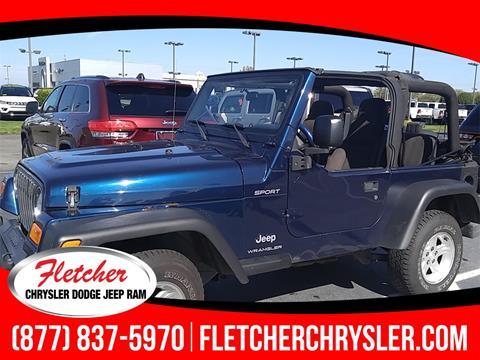2003 Jeep Wrangler for sale in Franklin, IN