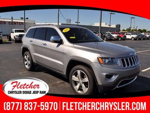 2015 Jeep Grand Cherokee for sale in Franklin, IN