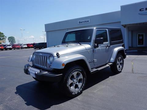 2017 Jeep Wrangler for sale in Carthage, MO