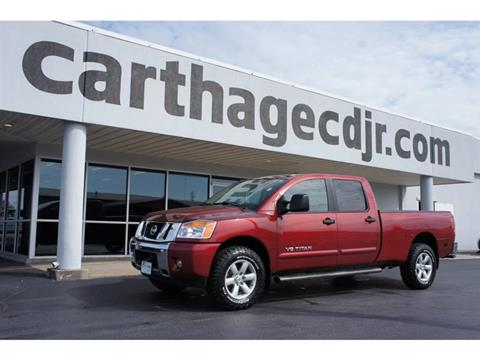 2014 Nissan Titan for sale in Carthage MO