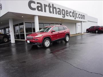 2017 Jeep Cherokee for sale in Carthage, MO
