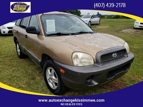 2001 Hyundai Santa Fe for sale in Kissimmee, FL
