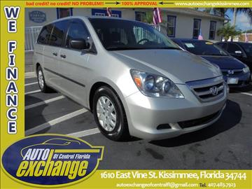 2006 Honda Odyssey for sale in Kissimmee, FL