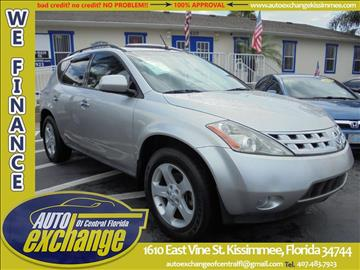 2003 Nissan Murano for sale in Kissimmee, FL