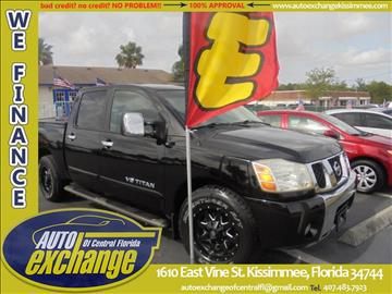 2005 Nissan Titan for sale in Kissimmee, FL
