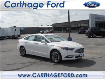 2017 Ford Fusion Hybrid for sale in Carthage, MO