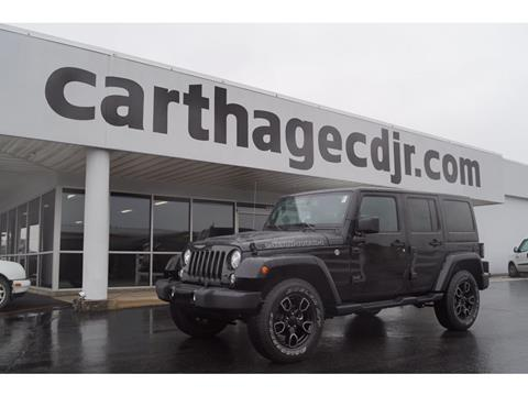 2017 Jeep Wrangler Unlimited for sale in Carthage, MO