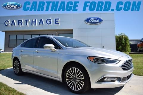 2018 Ford Fusion for sale in Carthage, MO