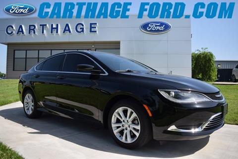 2015 Chrysler 200 for sale in Carthage, MO