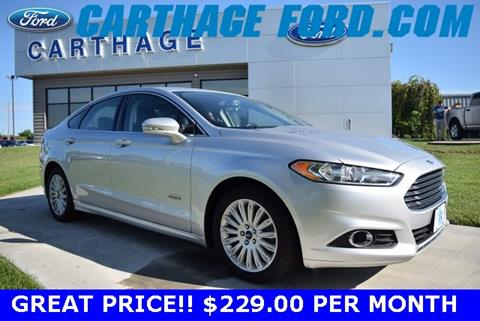 2016 Ford Fusion Energi for sale in Carthage, MO