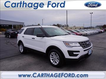 2017 Ford Explorer for sale in Carthage, MO