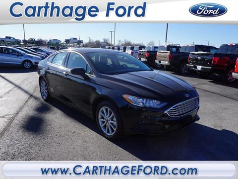 2017 Ford Fusion for sale in Carthage, MO