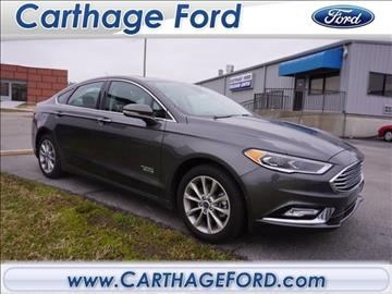 2017 Ford Fusion Energi for sale in Carthage, MO