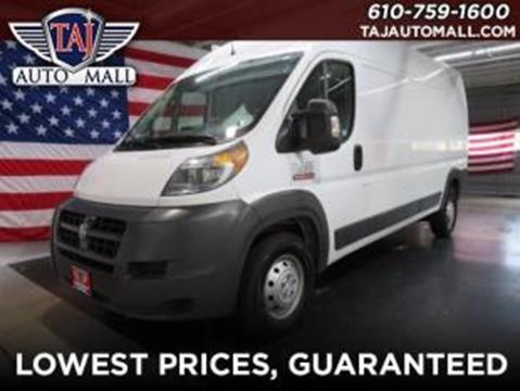 2017 RAM ProMaster Cargo for sale in Bethlehem, PA