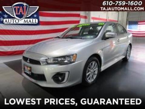 2016 Mitsubishi Lancer for sale in Bethlehem, PA