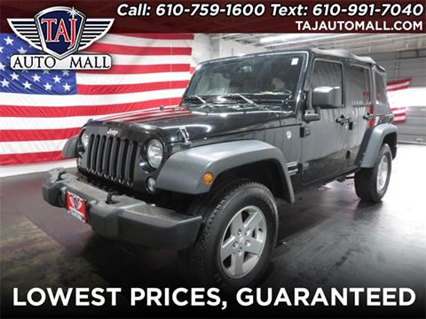 2016 Jeep Wrangler Unlimited for sale in Bethlehem, PA