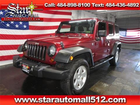 2013 Jeep Wrangler Unlimited for sale in Bethlehem, PA