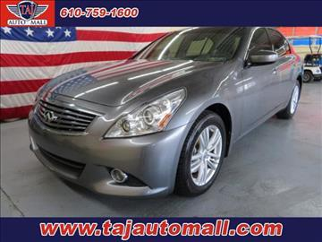 2012 Infiniti G25 Sedan for sale in Bethlehem, PA