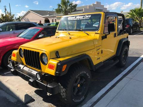 2000 Jeep Wrangler Sport for sale in Nesconset, NY
