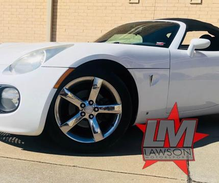 2007 Pontiac Solstice for sale in Joplin, MO